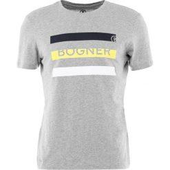 Bogner ROCK Tshirt z nadrukiem grau. Szare koszulki polo marki Bogner, m, z nadrukiem, z bawełny. Za 299,00 zł.