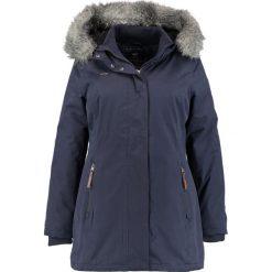 Ragwear Plus BREAK LONG Parka navy. Niebieskie parki damskie marki Ragwear Plus, z bawełny. W wyprzedaży za 501,75 zł.
