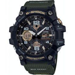 Zegarek Casio Męski GWG-100-1A3ER G-Shock Mudmaster. Czarne zegarki męskie CASIO. Za 1289,00 zł.