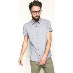 Medicine - Koszula Mr. Robot. Szare koszule męskie na spinki MEDICINE, m, z bawełny, z klasycznym kołnierzykiem, z krótkim rękawem. W wyprzedaży za 59,90 zł.
