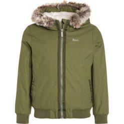 Bench COSY Kurtka zimowa dark green. Zielone kurtki chłopięce zimowe Bench, z materiału. W wyprzedaży za 303,20 zł.