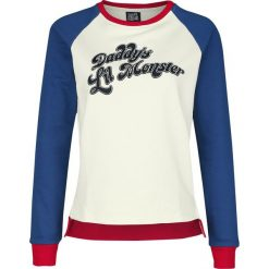 Suicide Squad Daddy's Lil Monster Bluza damska wielokolorowy. Czerwone bluzy z nadrukiem damskie marki KALENJI, z elastanu, z krótkim rękawem, krótkie. Za 99,90 zł.