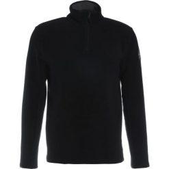 Napapijri TAMBO HALF  Bluza z polaru black. Szare bluzy męskie rozpinane marki Napapijri, l, z materiału, z kapturem. Za 429,00 zł.