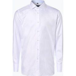 Van Graaf - Męska koszula z poszetką, czarny. Szare koszule męskie wizytowe marki Guess Jeans, l, z aplikacjami, z bawełny, z klasycznym kołnierzykiem, z długim rękawem. Za 139,95 zł.