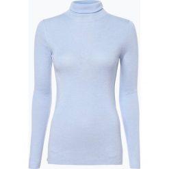 Swetry klasyczne damskie: Marc Cain Collections – Sweter damski z dodatkiem kaszmiru, niebieski