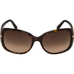 Prada Okulary przeciwsłoneczne braun. Brązowe okulary przeciwsłoneczne damskie aviatory Prada. Za 959,00 zł.