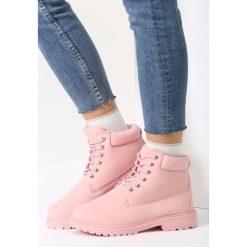 Buty zimowe damskie: Różowe Traperki Don't Worry Baby