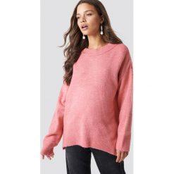 Trendyol Sweter Bike Collar - Pink. Różowe swetry klasyczne damskie Trendyol, z materiału. Za 80,95 zł.