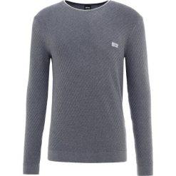 BOSS ATHLEISURE RIDNEY  Sweter medium grey. Niebieskie swetry klasyczne męskie marki BOSS Athleisure, m. Za 539,00 zł.