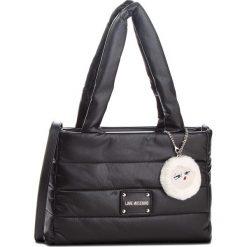 Torebka LOVE MOSCHINO - JC4252PP06KH0000 Nero. Czarne torebki klasyczne damskie marki Love Moschino, ze skóry ekologicznej, duże, bez dodatków. Za 929,00 zł.