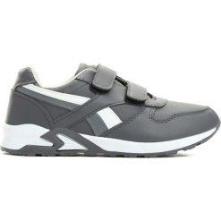 Ciemnoszare Buty Sportowe Team Leader. Białe buty sportowe chłopięce Born2be, z okrągłym noskiem, na płaskiej podeszwie, na rzepy. Za 59,99 zł.