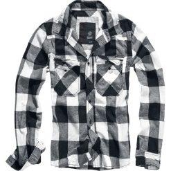 Brandit Checkshirt Koszula czarny/biały. Czarne koszule męskie na spinki marki Cropp, l. Za 121,90 zł.