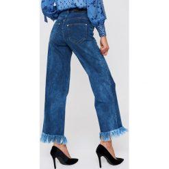 Spodnie z wysokim stanem: Baum und Pferdgarten Spodnie Nairne – Blue