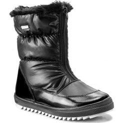 Kozaki dziewczęce: Śniegowce BARTEK – 27405/0G Czarny