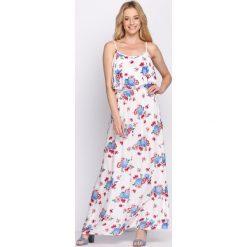 Sukienki: Biała Sukienka Jelly Beans