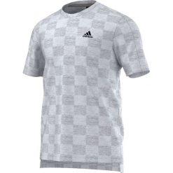 Adidas Koszulka męska adidas Check Tee biała r. M (S94756). Białe t-shirty męskie marki Adidas, m. Za 134,69 zł.