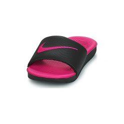 Klapki Dziecko Nike  KAWA (GS/PS) SLIDE. Czarne klapki dziewczęce marki Nike. Za 219,86 zł.