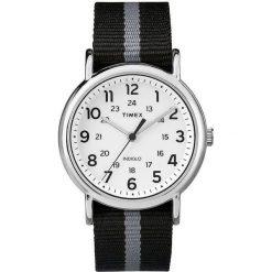 Zegarek Timex Męski TW2P72200 Weekender Indiglo czarny. Czarne zegarki męskie Timex. Za 225,50 zł.