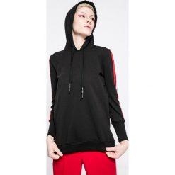 Answear - Bluza Sporty Fusion. Brązowe bluzy z kapturem damskie ANSWEAR, l, z bawełny. W wyprzedaży za 79,90 zł.