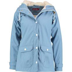 Derbe PENINSULA Kurtka przeciwdeszczowa light blue. Niebieskie kurtki damskie przeciwdeszczowe marki Derbe, z materiału. W wyprzedaży za 345,95 zł.