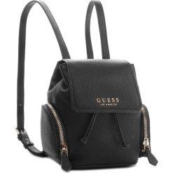 Plecak GUESS - HWVG67 00310 BLA. Czarne plecaki damskie marki Guess, z aplikacjami, ze skóry ekologicznej, klasyczne. Za 589,00 zł.