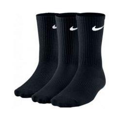Skarpety Nike 3PPK Lightweight Crew (SX4704-001). Czarne skarpetki męskie marki Nike. Za 39,99 zł.