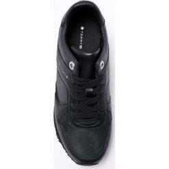 Tommy Hilfiger - Buty. Czarne buty sportowe damskie marki TOMMY HILFIGER, z materiału, z okrągłym noskiem, na obcasie. Za 449,90 zł.