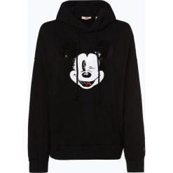 Levi's - Damska bluza nierozpinana – Disney, czarny. Czarne bluzy damskie Levi's®, s, z motywem z bajki, z kapturem. Za 299,95 zł.