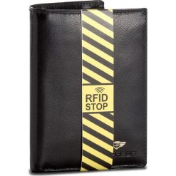 Duży Portfel Męski PETERSON - 339/RFID-04-01-01 Black. Czarne portfele męskie marki Peterson, ze skóry. W wyprzedaży za 139,00 zł.