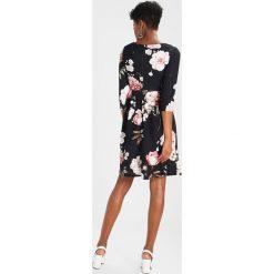 Sukienki hiszpanki: WAL G. FLORAL PRINT SKATER DRESS Sukienka z dżerseju black