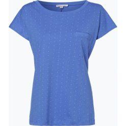Marie Lund - T-shirt damski, niebieski. Niebieskie t-shirty damskie Marie Lund, xxl, w kropki. Za 39,95 zł.