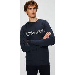 Calvin Klein - Bluza. Szare bejsbolówki męskie Calvin Klein, l, z nadrukiem, z bawełny, bez kaptura. Za 359,90 zł.