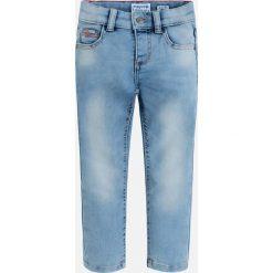 Mayoral - Jeansy dziecięce 92-134 cm. Niebieskie spodnie chłopięce Mayoral, z bawełny. Za 114,90 zł.