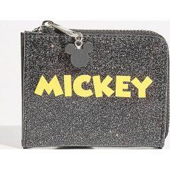 Portfel Mickey Mouse - Czarny. Szare portfele damskie marki Mohito, w kwiaty. Za 29,99 zł.