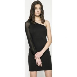 Only - Sukienka. Szare długie sukienki ONLY, na co dzień, l, z elastanu, casualowe, z długim rękawem, dopasowane. W wyprzedaży za 69,90 zł.