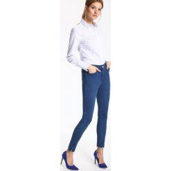 Spodnie damskie: SPODNIE DŁUGIE DAMSKIE KRÓJ 5-POCKET, RURKI, ZWĘŻANE