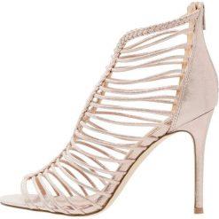 Sandały damskie: Miss Selfridge CRAZE Sandały na obcasie rose gold