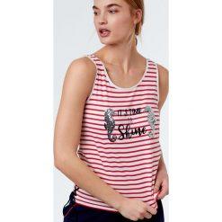 Etam - Top piżamowy. Białe piżamy damskie marki MEDICINE, z bawełny. W wyprzedaży za 39,90 zł.