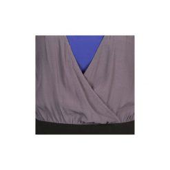 Sukienki krótkie Naf Naf  LYFAN. Czarne sukienki hiszpanki NAF NAF, z krótkim rękawem, mini. Za 265,30 zł.