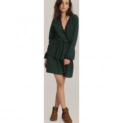 Ciemnozielona Sukienka Deep Love. Zielone sukienki koktajlowe other, uniwersalny. Za 79,99 zł.