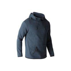 Bluza z kapturem Gym & Pilates 560 męska. Czerwone bluzy męskie rozpinane marki KALENJI, m, z elastanu, z długim rękawem, długie. Za 99,00 zł.