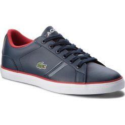Trampki chłopięce: Sneakersy LACOSTE – Lerond 218 2 Caj 7-35CAJ0016144 Nvy/Red