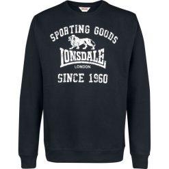 Lonsdale London Bengate Bluza czarny. Czarne bluzy męskie rozpinane marki Lonsdale London, m, z nadrukiem. Za 121,90 zł.