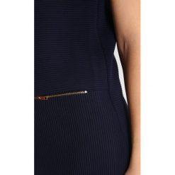 Madderson HANNAH Sukienka z dżerseju navy. Niebieskie sukienki z falbanami marki Madderson, z dżerseju. W wyprzedaży za 734,30 zł.