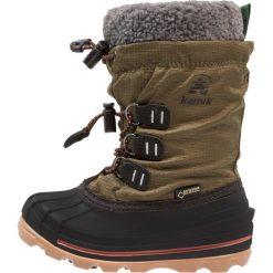 Buty zimowe damskie: Kamik CARMACKGTX Śniegowce khaki