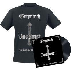 Gorgoroth Antichrist LP + T-Shirt standard. Czarne t-shirty męskie Gorgoroth, l. Za 154,90 zł.