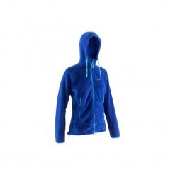 Bluza wspinaczkowa z kapturem damska. Niebieskie bluzy z kapturem damskie marki SIMOND, s, z materiału. Za 99,99 zł.