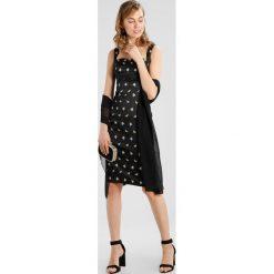 Sukienki hiszpanki: Karen Millen SPRIG PRINT COLLECTION Sukienka etui black/multi