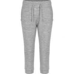 Bryczesy damskie: Spodnie dresowe w kolorze szarym