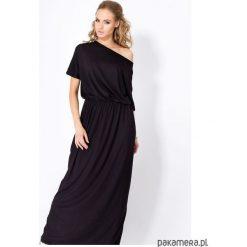 Sukienki: Sukienka LONGIN długa czarna